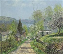 Edward Willis Redfield, Hillside and Valley, Point Pleasant