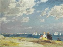 Edward Henry Potthast, Sailboats