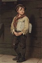John George Brown, Newsboy