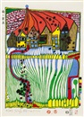 Friedensreich Hundertwasser, Do not wait houses - Move