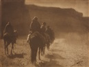 Edward Sheriff Curtis, The Vanishing Race - Navaho