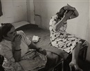 Robert Capa, Immigrants in their baracks, St. Luke's camp, Israel
