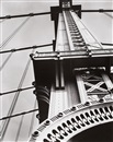 Berenice Abbott, Manhattan Bridge looking up (from: Changing New York)