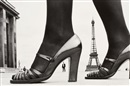 Frank Horvat, Shoe and Eiffeltower
