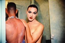 Nan Goldin, Jimmy Paulette + Taboo! In the bathroom, New York