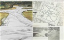 Christo and Jeanne-Claude, Wrapped Walkways, project for St. Stephen's Green Park, Dublin