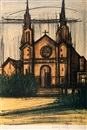 Bernard Buffet, Album San Francisco - Église (from San Francisco)