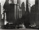Andreas Feininger, Skyscrapers in Lower Manhattan, New York