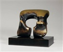 Henry Moore, Maquette for Square Form With cut