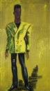 Rainer Fetting, Man in Yellow (Mugler), Man in Yellow (Mugler)