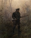 Ivan Pavlovich Pokhitonov, Hunter in the Forest