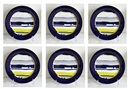 Roy Lichtenstein, Cobalt and Yellow (set of 6)