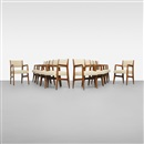 Gio Ponti, Dining chairs from the Augustus ocean liner (set of 12)