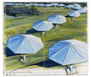 Christo and Jeanne-Claude, The Umbrellas. Project for Japan and Western USA