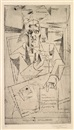 Louis Marcoussis, Portrait Guillaume Apollinaire