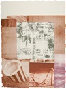 Robert Rauschenberg, Gray Garden, pl. 6 (from Rookery Mounds)