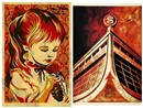 Shepard Fairey, War by Numbers (+ The Glass House; 2 works), 2007