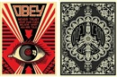 Shepard Fairey, OBEY Eye, Black Edition (+ Peace Bomber, Black Edition; 2 works)