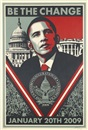 Shepard Fairey, BE THE CHANGE