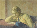 Mischa Askenazy, Young Man Reading