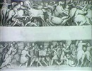 TWO FRIEZES: A BATTLE OF ROMAN CAVALRY AND AN INFANTRY      ENGAGEMENT by Pomponio Amalteo