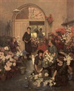 The Flower Shop by Anna Airy