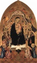 The Madonna and Child enthroned with Sts. John the Baptist and others by Agnolo di Taddeo Gaddi