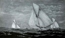 Racing yachts by Edward Arnold