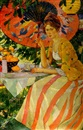 Afternoon under the parasol by Robert Hartley Cameron