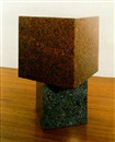 Two cube table by Scott Burton