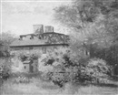 House portrait by Walter Gilman Page