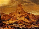 The building of the Tower of Babel by Hendrick van Cleve III