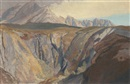 The Cuillins, Isle of Skye: The approach form Glen Brittle by Charles Knight