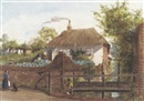 Paradise cottage, Ottery St. Mary, Devon by George Buchanan Wollaston