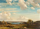 Evening sunshine, Isle of Purbeck by Arthur A. Friedenson