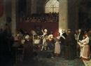 Le jeune Mozart (in collab. with artist's studio) by Eugène Ernest Hillemacher