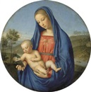 The Madonna and Child by Giovanni Battista Salvi (Il Sassoferrato)