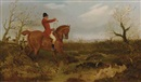 On the scent (+ Tally Ho!; pair) by George Henry Laporte
