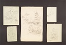 Untitled (set of 15 drawings, some signed) by Harry Humphrey Moore