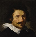 Portrait of a man (Pietro Da Cortona?) by Gian Lorenzo Bernini