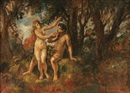 Adam and Eve by Herman Lipót