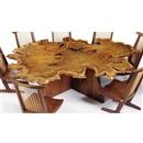 Arlyn table from the Arlyn room, Melody Woods III, Princeton, New Jersey by George Nakashima