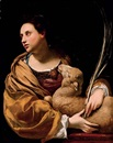 Saint Agnes by Simon Vouet
