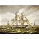 Sailing boat (+ 2 others; 3 works, various sizes) by Jean Laurent