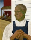 Farmer, general store, mural design by Hollis Holbrook