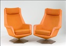 Nojatuolipari (A pair of armchairs) by Voitto Haapalainen