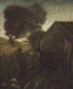 The farmyard by Albert Pinkham Ryder