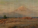 Mount Fuji in early spring by Eisaku Wada