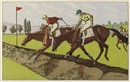 Racehorses (set of 8) by Charles Ancelin