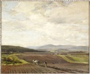 Ploughing, Lammermuir Hills by James Campbell Noble